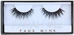 Kup Sztuczne rzęsy nr 12 - Huda Beauty Faux Mink Lash 12