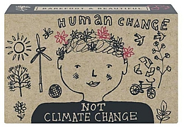 Kup Mydło do rąk w kostce Jeżyna i rabarbar - Bath House Barefoot And Beautiful Hand Soap Human Change Not Climate Change Blackberry & Rhubarb