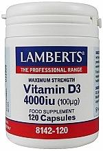 Kup Suplement diety Witamina D3, 100 mg - Lamberts Vitamin D3 4000 IU