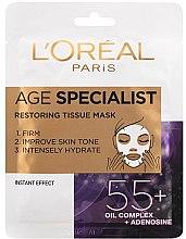 Kup Maska do intensywnego wygładzenia i rozjaśnienia skóry - L'Oreal Paris Age Specialist 55+