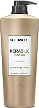Kup Głęboko oczyszczający szampon - Goldwell Kerasilk Control Purifying Shampoo