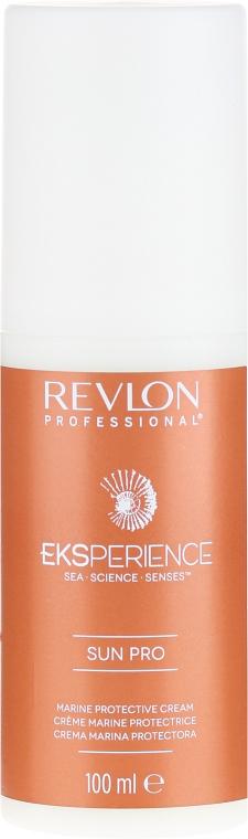 Krem chroniący włosy przed słońcem - Revlon Professional Eksperience Sun Pro Protective Cream — фото N2