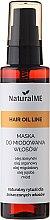 Kup Maska do miodowania włosów - NaturalME Hair Oil Line