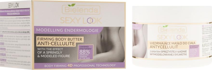 Ujędrniające masło antycellulitowe do ciała Modelująca endermologia - Bielenda Sexy Look — фото N1