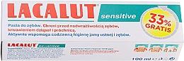 Kup PRZECENA! Pasta do wrażliwych zębów - Lacalut Sensitive *