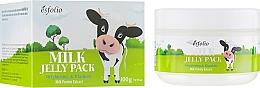 Kup Rozświetlająco-ujędrniająca mleczna maska do twarzy - Esfolio Milk Shape Memory Jelly Pack