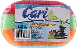 Kup Tęczowa gąbka masażowa do kąpieli 1 - Cari