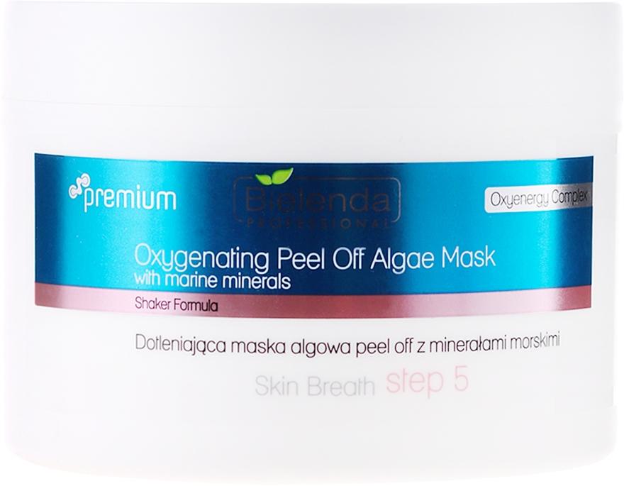 Dotleniająca maska algowa peel-off z minerałami morskimi - Bielenda Professional Skin Breath — фото N1