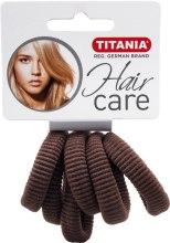 Kup Gumka do włosów (średnia, brązowa) - Titania