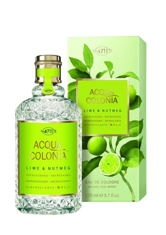 Maurer & Wirtz 4711 Aqua Colognia Lime & Nutmeg - Woda kolońska