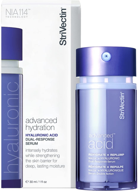 Serum do twarzy z kwasem hialuronowym - StriVectin Advanced Acid Hyaluronic Dual-Response Serum