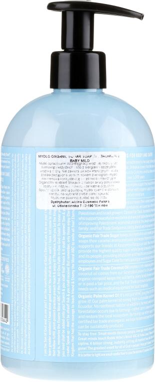 Mydło w płynie dla dzieci - Dr. Bronner's Organic Sugar Soap Baby-Mild — фото N4