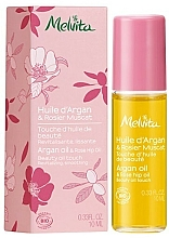 Kup Wygładzający olejek do ciała z olejem arganowym i z dzikiej róży - Melvita Huiles De Beaute Argan & Rose Hip Oil Roll-On