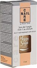 Kup Preparat do pielęgnacji paznokci 4 w 1 - Peggy Sage 4-in-1 Nail Treatment With Silicon