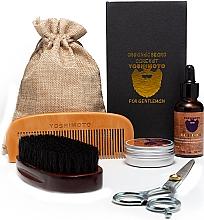 Kup Zestaw - Yoshimoto Gentleman's Code ST058 (comb + scissors + wax/30g + oil/30ml + comb + bag)