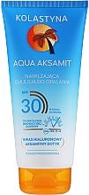Kup Nawilżająca emulsja do opalania - Kolastyna Aqua Aksamit Suncare Emulsion SPF 30
