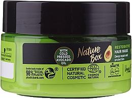 Kup Intensywna maska do włosów zniszczonych z zimnotłoczonym olejem z awokado - Nature Box Avocado Oil Mask