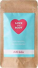 Kup 100% naturalny peeling kawowy Słodki kokos - Love Your Body