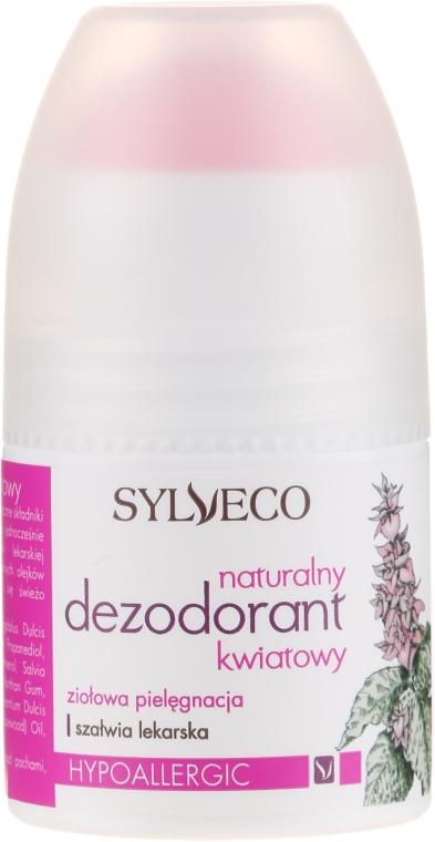 Naturalny dezodorant kwiatowy w kulce - Sylveco