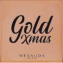 Kup Rozświetlacz z lusterkiem do twarzy - Mesauda Milano Gold XMas (tester)