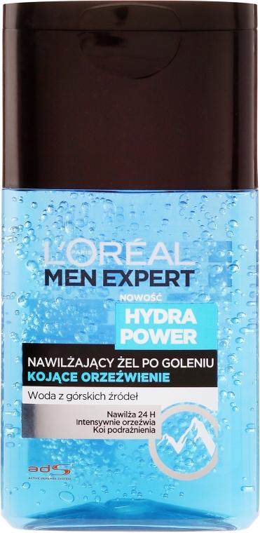 Nawilżający żel po goleniu Kojące orzeźwienie - L'Oreal Paris Men Expert Hydra Power