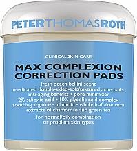 Kup Płatki do twarzy oczyszczające pory - Peter Thomas Roth Max Complexion Correction Pads