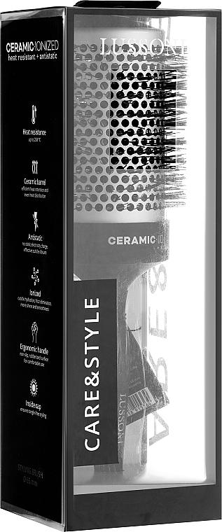 Szczotka do włosów, 65 mm - Lussoni Care&Style Styling Brush 65 mm — фото N2
