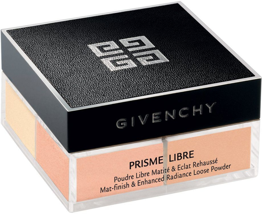 Sypki puder w pryzmie - Givenchy Prisme Libre Mat-Finish & Enhanced Radiance Loose Powder