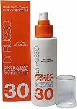 Kup Nawilżający spray z filtrem przeciwsłonecznym - Dr. Russo Once A Day SPF30 Sun Protective Invisible Mist