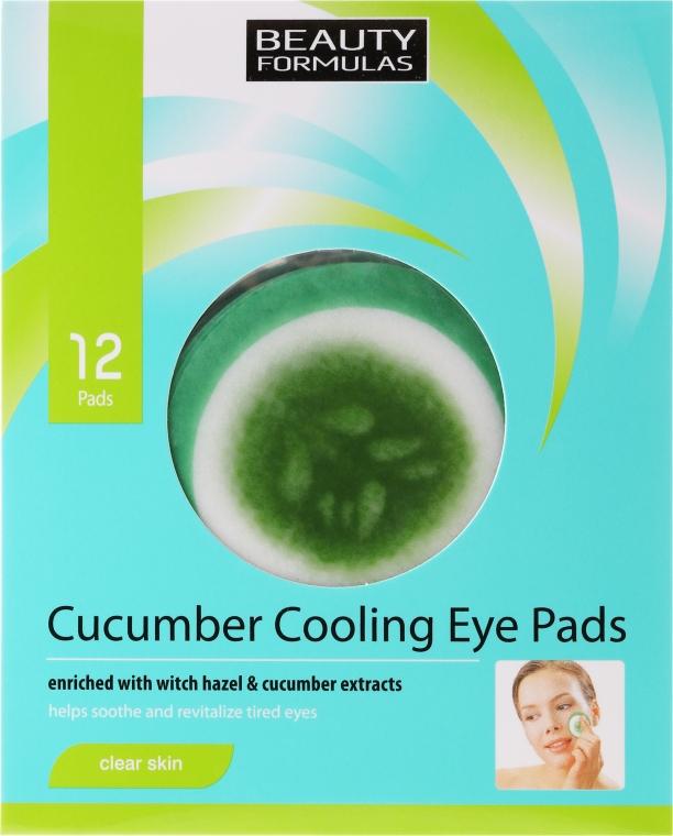 Chłodzące plastry pod oczy - Beauty Formulas Cucumber Cooling Eye Pads