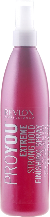 Mocno utrwalający spray - Revlon Professional Pro You Extreme Strong Hold Finishing Spray — фото N1