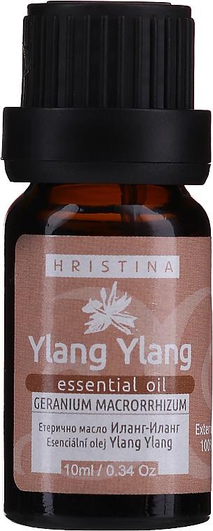 Olejek eteryczny Ylang Ylang - Hristina Cosmetics Ylang Ylang Essential Oil — фото N1