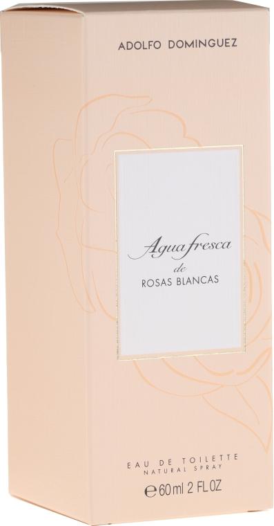 Adolfo Dominguez Agua Fresca de Rosas Blancas - Woda toaletowa — фото N1