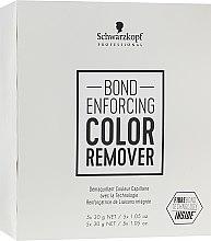 Kup Preparat do usuwania sztucznego pigmentu z włosów - Schwarzkopf Professional Bond Enforcing Color Remover