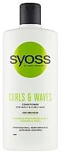 Kup Odżywka do włosów kręconych i falowanych - Syoss Curls & Waves Conditioner With Soi Protein