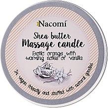 Kup Świeca do masażu z masłem shea Pomarańcza i wanilia - Nacomi Shea Butter Massage Candle