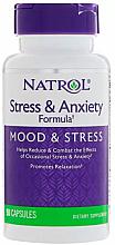 Kup Kuracja w kapsułkach niwelująca stres - Natrol Stress & Anxiety Formula