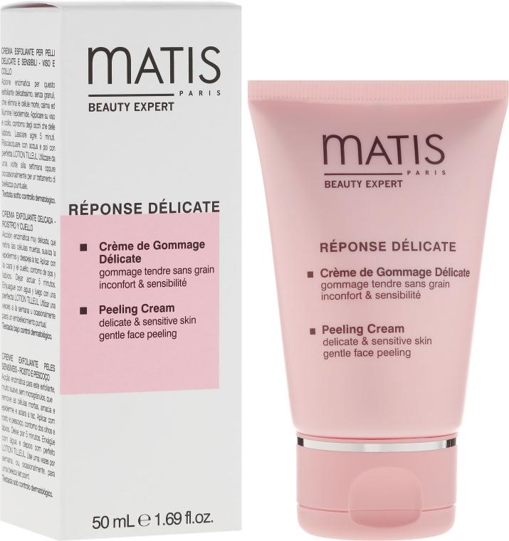 Łagodny krem peelingujący do skóry delikatnej i wrażliwej - Matis Paris Réponse Délicate Peeling Cream — фото N1