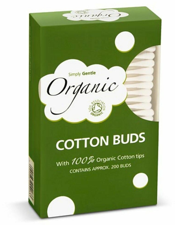 Organiczne patyczki kosmetyczne - Simply Gentle Organic Cotton Buds — фото N1