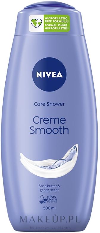 Kremowy żel pod prysznic Masło shea - Nivea Smooth Shower Gel — фото 500 ml