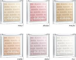 Naturalny rozświetlacz do twarzy - Ecocera Shimmer — фото N7