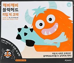 Kup Oczyszczające plastry na nos - A'pieu Goblin Blackhead Real Big Nose Strip