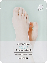 Kup Maska do stóp - The Saem Pure Natural Foot Treatment Mask