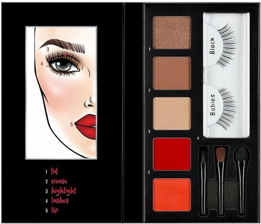 Paletka do makijażu - Ardell Beauty Looks To Kill Eye & Lip Palette — фото N1