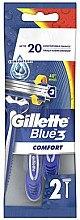 Kup Jednorazowe maszynki do golenia, 2 szt. - Gillette Blue 3 Comfort