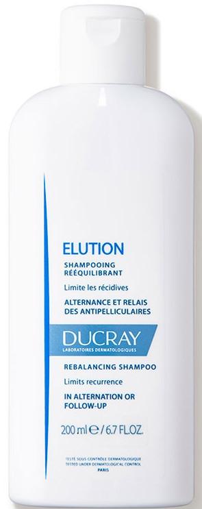 Balansujący szampon do codziennego stosowania - Ducray Elution Rebalancing Shampoo — фото N1