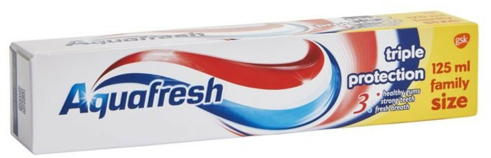 Pasta do zębów - Aquafresh Triple Protection Toothpaste — фото N1