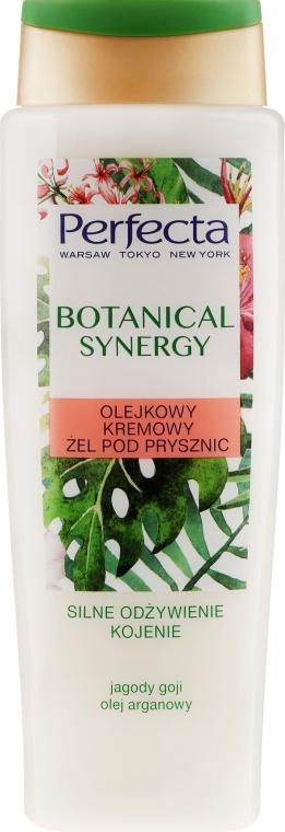 Olejkowy kremowy żel pod prysznic Silne odżywienie i kojenie - Perfecta Botanical Synergy