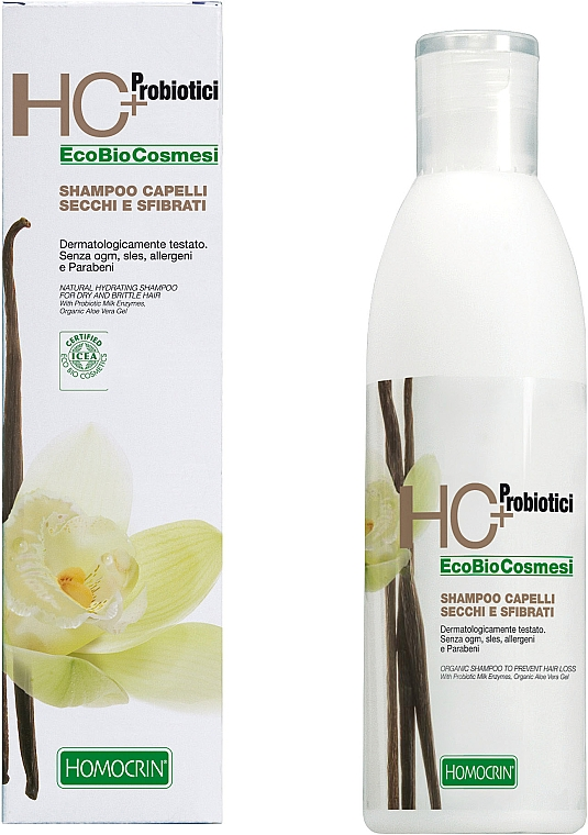 Szampon do włosów suchych i zniszczonych - Specchiasol HC+ Shampoo For Dry And Damaged Hair — фото N1