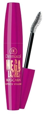 Tusz dodający rzęsom objętości - Dermacol Mega Lashes Express Volume Mascara — фото N1